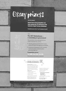 Inaugural Dennis Pearce Essay Competition poster