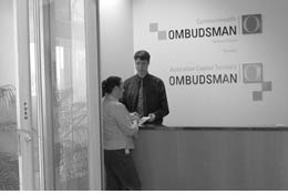 Photo of ACT Ombudsman shopfront
