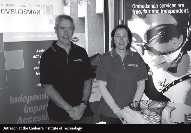 Outreach at the Canberra Institute of Technology